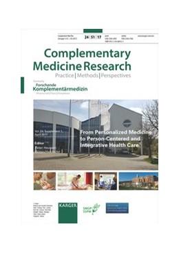 Abbildung von Heusser | From Personalized Medicine to Person-Centered and Integrative Health Care | 1. Auflage | 2017 | beck-shop.de