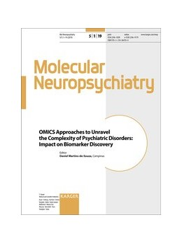 Abbildung von Martins-de-Souza | OMICS Approaches to Unravel the Complexity of Psychiatric Disorders: Impact on Biomarker Discovery | 2019 | Special Topic Issue: Molecular...