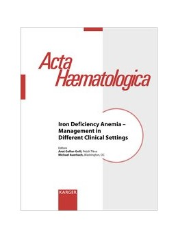 Abbildung von Iron Deficiency Anemia - Management in Different Clinical Settings | 1. Auflage | 2019 | beck-shop.de