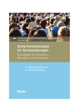 Abbildung von Ebner / Klode   Sicherheitskonzepte für Veranstaltungen   3. Auflage   2020   beck-shop.de