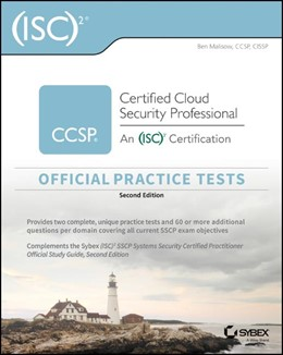 Abbildung von Malisow | (ISC)2 CCSP Certified Cloud Security Professional Official Practice Tests | 2. Auflage | 2020