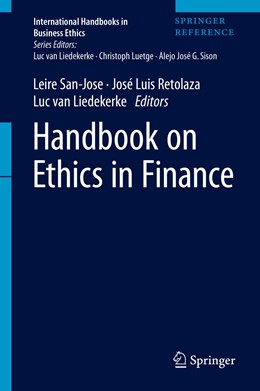 Abbildung von San-Jose / Retolaza / Liedekerke | Handbook on Ethics in Finance | 1st ed. 2021 | 2021
