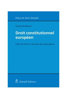 Abbildung von Besson | Droit constitutionnel européen | 2019