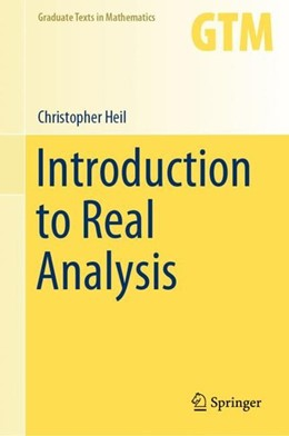 Abbildung von Heil | Introduction to Real Analysis | 1st ed. 2019 | 2019