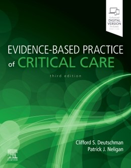 Abbildung von Deutschman / Neligan | Evidence-Based Practice of Critical Care | 2019