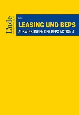 Abbildung von Luka   Leasing und BEPS   1. Auflage   2019   beck-shop.de