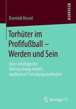 Abbildung von Rossol   Torhüter im Profifußball - Werden und Sein   2019   Eine soziologische Untersuchun...