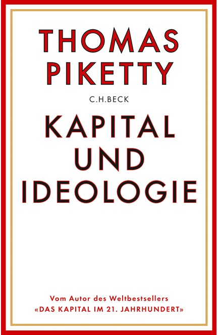 Cover: Thomas Piketty, Kapital und Ideologie