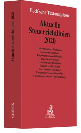 Abbildung von Aktuelle Steuerrichtlinien 2020   2020   Einkommensteuer-Richtlinien, L...