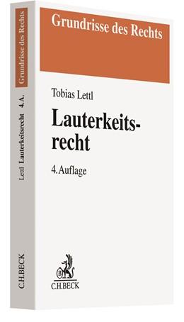 Abbildung von Lettl | Lauterkeitsrecht | 4. Auflage | 2021 | beck-shop.de
