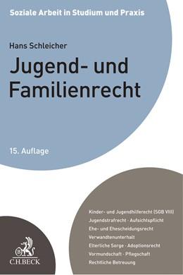 Abbildung von Schleicher   Jugend- und Familienrecht   15. Auflage   2020   Ein Studienbuch