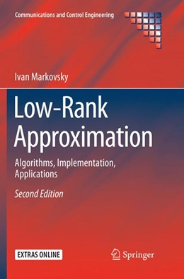Abbildung von Markovsky | Low-Rank Approximation | Softcover reprint of the original 2nd ed. 2019 | 2019 | Algorithms, Implementation, Ap...
