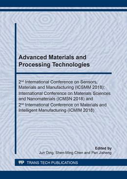 Abbildung von Ding / Chen / Jisheng | Advanced Materials and Processing Technologies | 2019 | Volume 962