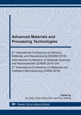 Abbildung von Ding / Chen | Advanced Materials and Processing Technologies | 1. Auflage | 2019 | Volume 962 | beck-shop.de