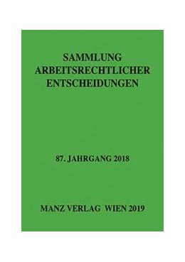 Abbildung von Weiß | Sammlung arbeitsrechtlicher Entscheidungen | 1. Auflage | 2019 | beck-shop.de
