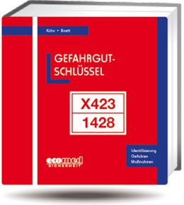 Abbildung von Kühn / Birett | Gefahrgut-Schlüssel | Loseblattwerk mit 39. Aktualisierung | 2019