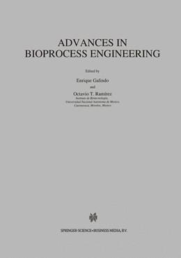 Abbildung von Galindo / Ramírez | Advances in Bioprocess Engineering | 1994