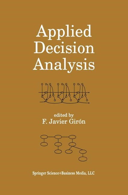 Abbildung von Girón | Applied Decision Analysis | 1998