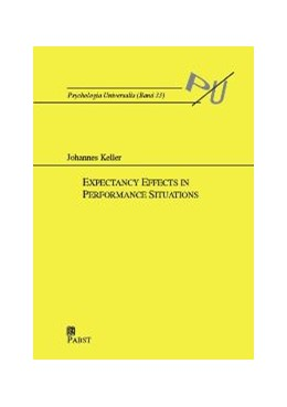 Abbildung von Keller | Expectancy Effects in Performance Situations | 2004