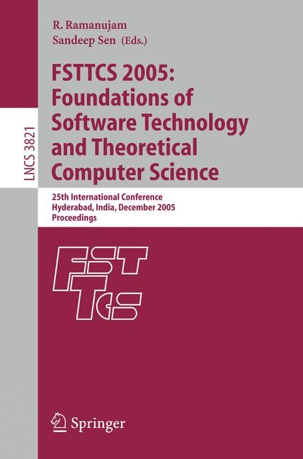 Abbildung von Ramanujam / Sen | FSTTCS 2005: Foundations of Software Technology and Theoretical Computer Science | 2005