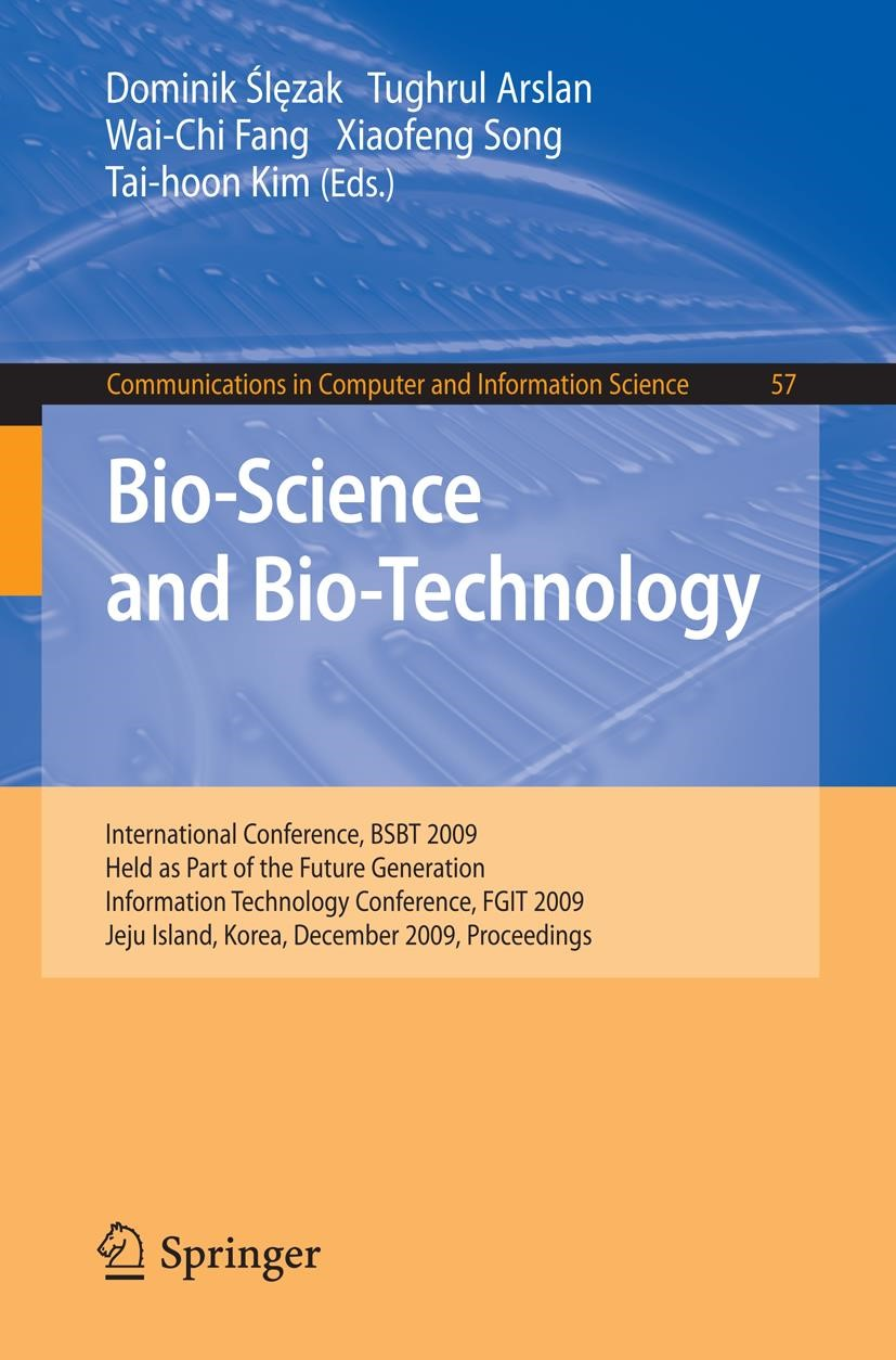 Abbildung von Slezak / Arslan / Song / Kim | Bio-Science and Bio-Technology | 2009