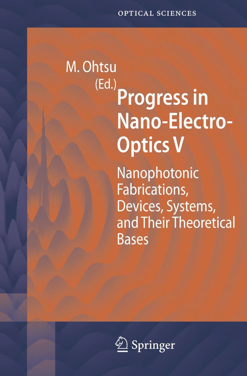 Progress in Nano-Electro-Optics V | Ohtsu, 2006 | Buch (Cover)