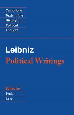 Abbildung von Leibniz / Riley | Leibniz: Political Writings | 2nd edition | 1988 | Edited by Patrick Riley