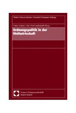 Abbildung von Gerken / Lambsdorff   Ordnungspolitik in der Weltwirtschaft   2001