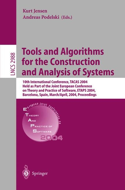 Abbildung von Jensen / Podelski | Tools and Algorithms for the Construction and Analysis of Systems | 2004