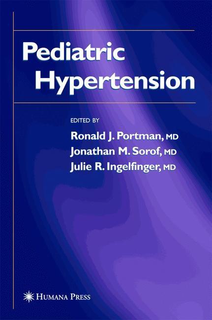 Abbildung von Portman / Sorof / Ingelfinger | Pediatric Hypertension | 2004