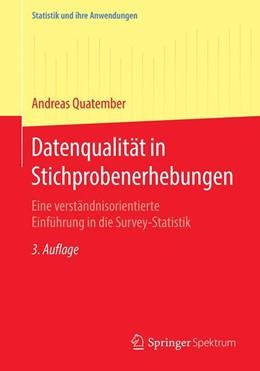 Abbildung von Quatember | Datenqualität in Stichprobenerhebungen | 3. Auflage | 2020 | beck-shop.de