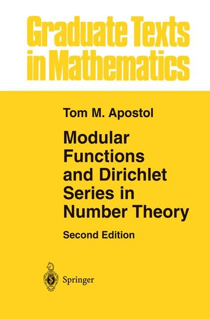 Abbildung von Apostol | Modular Functions and Dirichlet Series in Number Theory | 2nd ed. 1990. Corr. 2nd printing | 1997