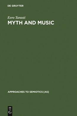 Abbildung von Tarasti | Myth and Music | 1979 | 1979