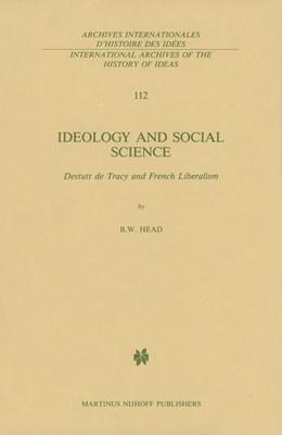Abbildung von Head | Ideology and Social Science | 1985 | Destutt de Tracy and French Li... | 112