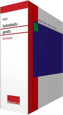 Abbildung von Welte / Sobotta / Franßen-de la Cerda   Kommentar zum Aufenthaltsgesetz • mit Aktualisierungsservice   Loseblattwerk mit Aktualisierungen   2020