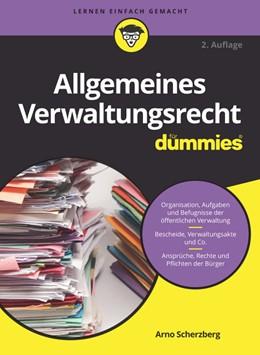 Abbildung von Scherzberg | Allgemeines Verwaltungsrecht für Dummies | 2., aktualisierte Auflage | 2019