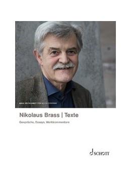 Abbildung von Nikolaus Brass - Texte | 2019