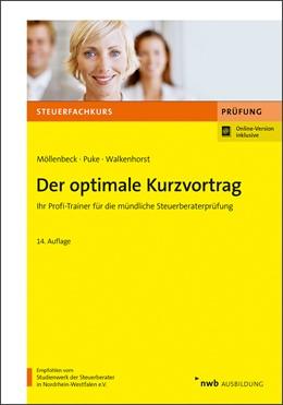Abbildung von Möllenbeck / Puke | Der optimale Kurzvortrag | 14. Auflage | 2019 | beck-shop.de