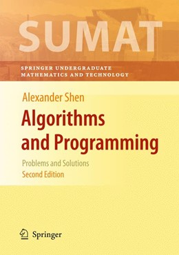 Abbildung von Shen   Algorithms and Programming   2nd ed.   2009   Problems and Solutions
