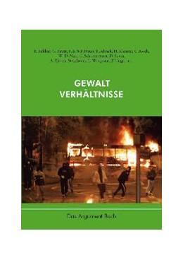 Abbildung von Haug / Jehle | Gewaltverhältnisse | 2006
