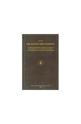 Abbildung von Elm | Die Macht der Weisheit: Das Bild des Bischofs in der Vita Augustini des Possidius und anderen spätantiken und frühmittelalterlichen Bischofsviten | 2002 | 109