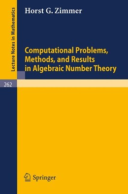 Abbildung von Zimmer | Computational Problems, Methods, and Results in Algebraic Number Theory | 1972