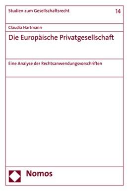 Abbildung von Hartmann | Die Europäische Privatgesellschaft | 1. Auflage | 2019 | 14 | beck-shop.de