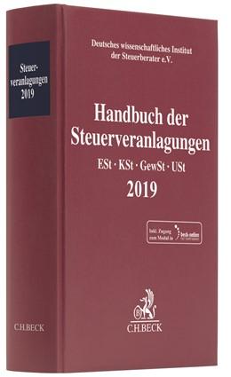 Abbildung von Handbuch der Steuerveranlagungen 2019 | 2020 | Einkommensteuer, Körperschafts...
