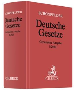 Abbildung von Schönfelder | Deutsche Gesetze Gebundene Ausgabe I/2020 | 2020