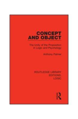Abbildung von Palmer | Concept and Object | 1. Auflage | 2019 | beck-shop.de