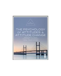Abbildung von Maio / Haddock / Verplanken | The Psychology of Attitudes and Attitude Change | Third Edition | 2019