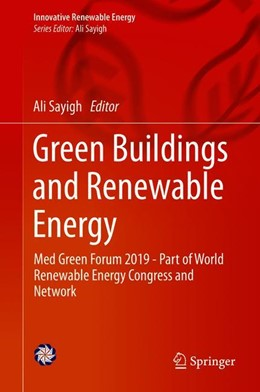 Abbildung von Sayigh | Green Buildings and Renewable Energy | 1st ed. 2020 | 2019 | Med Green Forum 2019 - Part of...