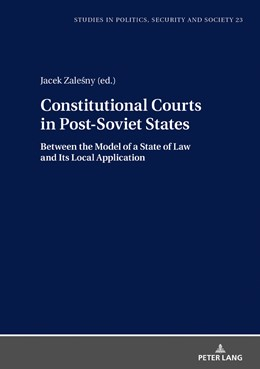 Abbildung von Zalesny | Constitutional Courts in Post-Soviet States | 2019 | Between the Model of a State o... | 25