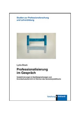 Abbildung von Brack | Professionalisierung im Gespräch | 2019 | Subjektivierungen in Nachbespr...